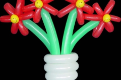 4 Flower Vase