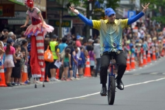 CharlesDolbel-Parade-Unicycling